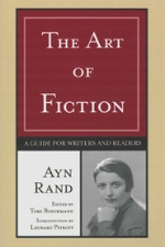 the art of fiction, ayn rand