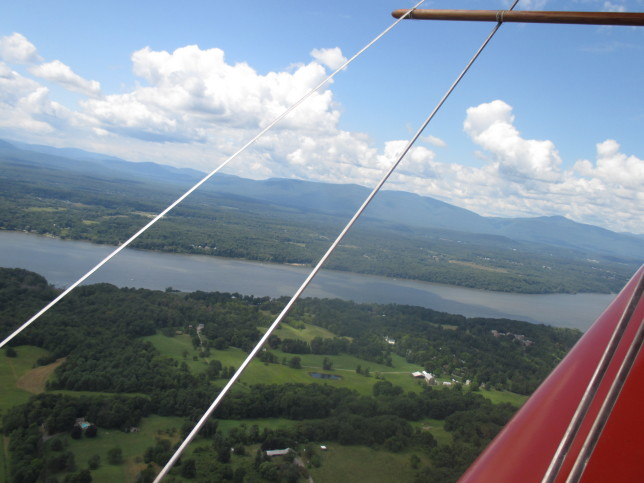 The Hudson Valley, from the biplane