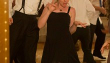 Dancing at my friend's wedding
